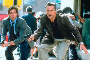 Edward Burns and De Niro