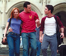 Mena Suvari, Chris Klein, and Thomas Ian Nicholas