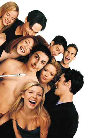 The cast of American Pie