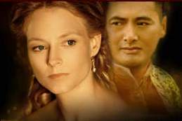 Jodie Foster and Chow Yun-Fat