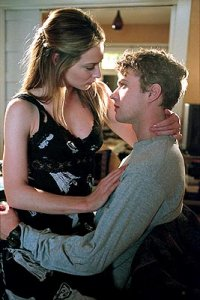 Claire Forlani and Phillippe