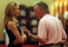 Cameron Diaz and James Woods