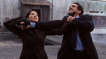 Lucy Liu and Antonio Banderas
