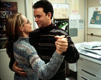 Helen Hunt and Hanks