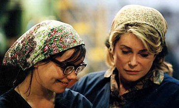 Bjork and Catherine Deneuve
