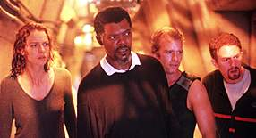 Saffron Burrows, Samuel L. Jackson, Thomas Jane, and Michael Rapaport