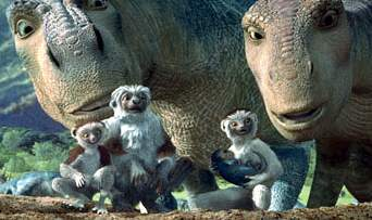 Aladar, Neera, Suri, Yar, and Plio