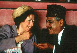 Linda Bassett and Om Puri