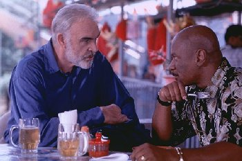 Sean Connery and Ving Rhames