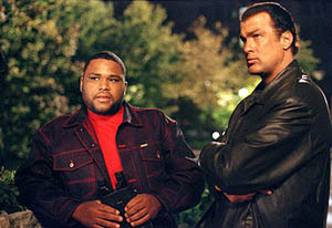 Anthony Anderson and Seagal