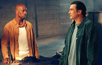 DMX and Steven Seagal