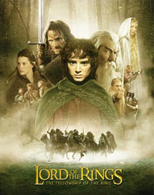 The Lord of the Rings: The Fellowship of the Rings poster