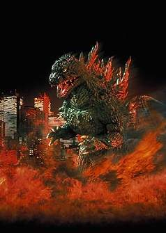 Godzilla, King of All Monsters!