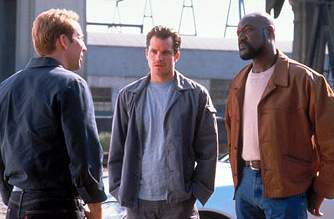 Cage, Timothy Olyphant, and Delroy Lindo