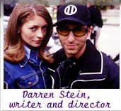 Rebecca Gayheart with writer/director Darren Stein