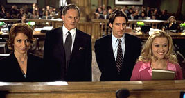 Shannon O'Hurley, Victor Garber, Luke Wilson, and Witherspoon