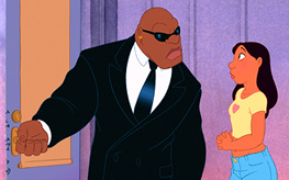 Cobra Bubbles (Ving Rhames) and Nani (Tia Carrere)