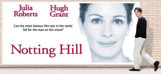 Image result for notting hill poster