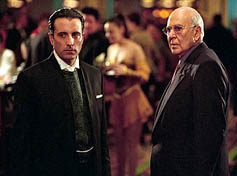 Andy Garcia and Carl Reiner