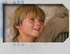Jake Lloyd is the young Anakin Skywalker