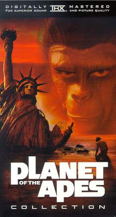 Planet of the Apes box art