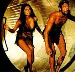 Nova (Linda Harrison) and Brent (James Franciscus) explore Beneath the Planet of the Apes