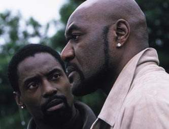 Isaiah Washington and Delroy Lindo
