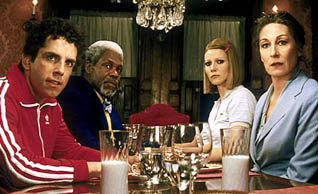 Ben Stiller, Danny Glover, Gwyneth Paltrow, and Anjelica Huston