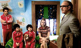 Stiller, Grant Rosenmeyer, Jonah Meyerson, Paltrow, and Gene Hackman