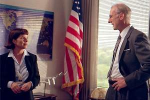 Marcia Gay Harden and James Cromwell