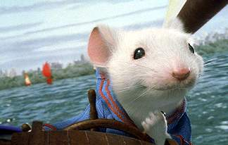 Stuart Little, voiced by Michael J. Fox