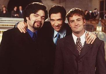 Oliver Platt, Dylan McDermott, and Matthew Perry