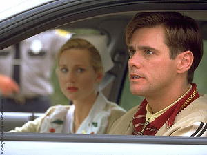 Jim Carrey with Laura Linney