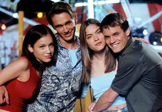 Marla Sokoloff, James Franco, Jodi Lyn O'Keefe, and Shane West